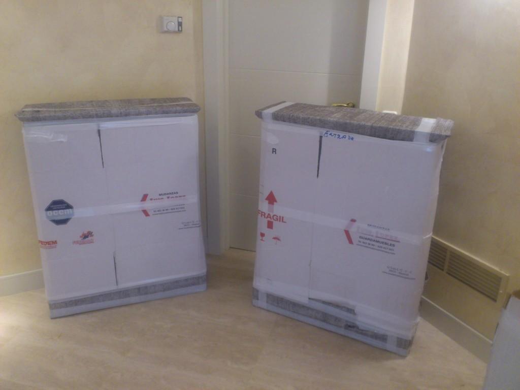 mudanzas del hogar cajas